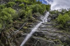 Chute d'eau au Tessin