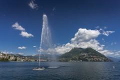 Jet d'eau de Lugano